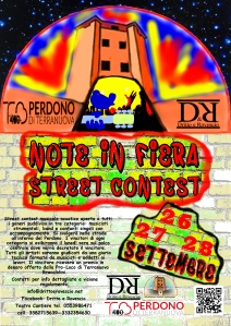 LOCANDINA NOTE IN FIERA STREET CONTEST